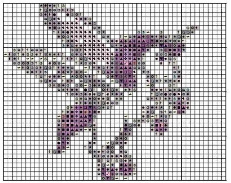 free printable unicorn cross stitch patterns free unicorn 2 cross stitch pattern email only