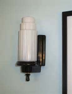 Deco Wall Sconce Finishing Touches Art Deco Lighting Big Dig Reno