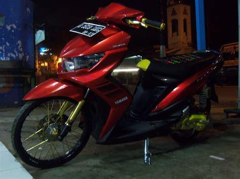 Modif Mio Soul Gt Pelek 17 by Mio Soul Gt Merah Modifikasi Velg 17 Automotivegarage Org