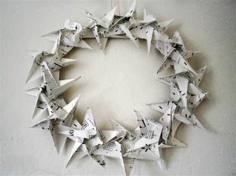 Origami Wreath - origami wreath reanimators
