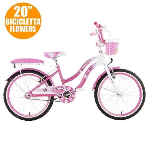 per bambina bicicletta per bambina 14 modello butterfly con rotelle