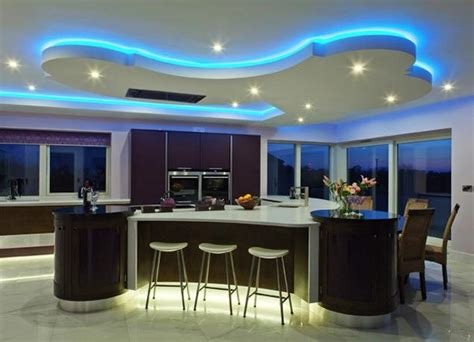 Wild And Wacky Kitchens Cubist Plywood Mood Lit Kitchens Mood Lighting Kitchen