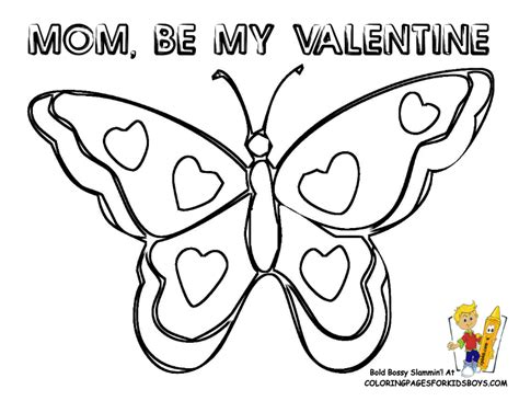 Valentines Coloring Pictures   Bebo Pandco