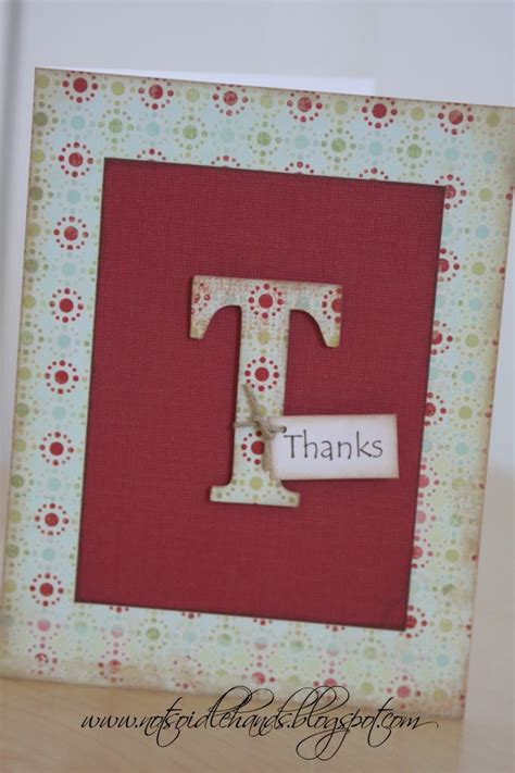 Thank You Note For Handmade Gift - 326 best crafts images on creative crafts
