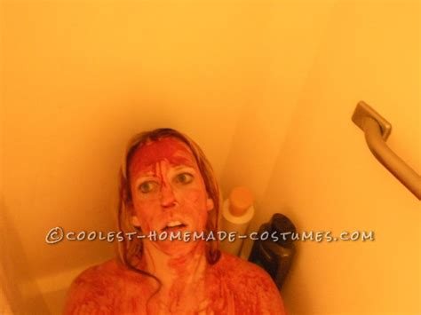 dead girl in bathtub homemade horror family costume