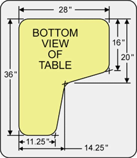 shooting bench dimensions shooting bench plans