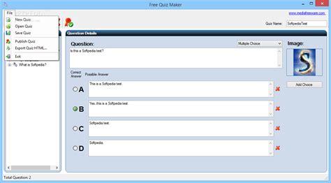 printable quiz maker free quiz maker download