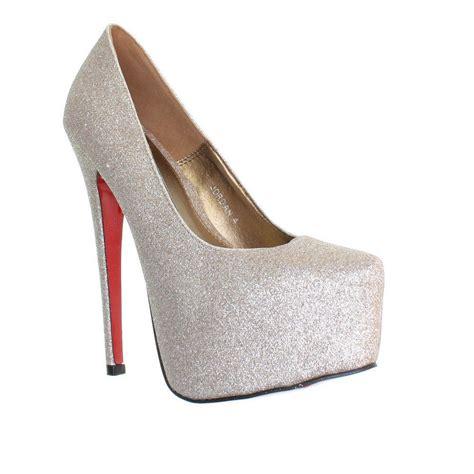 platform high heel glitter shoes polyvore