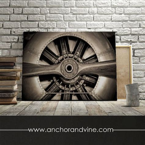 airplane propeller oversized canvas large wall