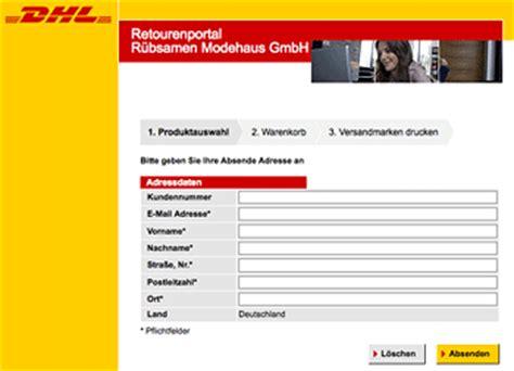 Word Vorlage Dhl Paketaufkleber unbenanntes dokument