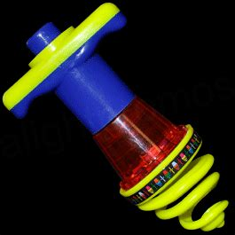 light up bouncy light up bouncy spinning top rainbow multicolor