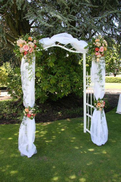 Wedding Arch Anchors by Best 25 Wedding Arch Tulle Ideas On Wedding