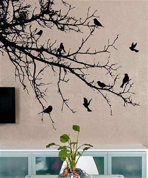wall stickers trees and birds 25 best ideas about bird wall decals on bird wall tree wall decals and small