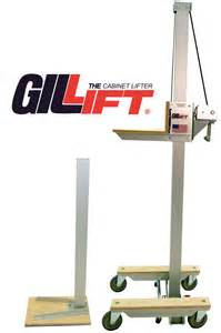 kitchen cabinet jacks the original gillift 174 cabinet lift kit by telpro