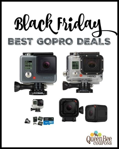 gopro deals black friday gopro soldes en image