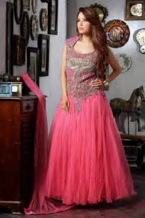 lancha dress indian new designer wedding wear gown heavy embroidery work evening gown