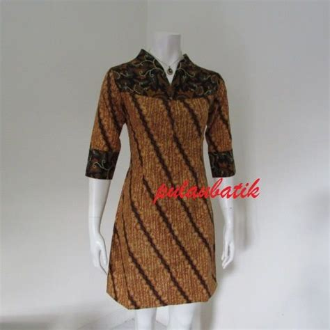 Vintage Flowy Dress Toko Terpecaya best 25 model dress batik ideas on