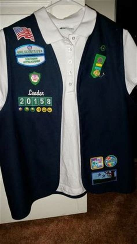 Vest Deluna by Scout Leader Vest Wish My Council Offered This
