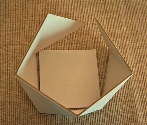 How To Make A 3d Box Out Of Paper - hanji happenings how to make a 3d box