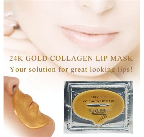 Grosir Collagen Eye Mask jual gold collagen lip mask murah grosir curzerif