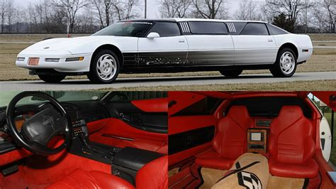 corvette limousine is real and it s headed to auction