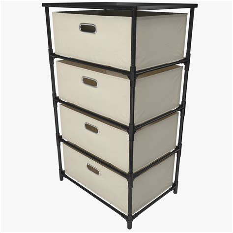 Canvas Storage Drawers by C4d Drawer Canvas Storage