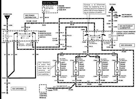 1997 Mercury Fuse Box Diagram