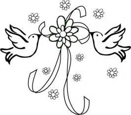 beautiful bird wedding coloring pages kimmiebee