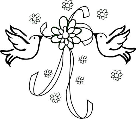 Beautiful Bird Wedding Coloring Pages Kimmiebee Stunning Coloring Images