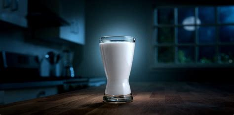 milk before bed your grandma always made you drink a glass of milk before