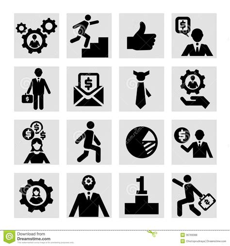 vector business icons set royalty free stock photos image 1095468 business success icons set royalty free stock photos image 36769388