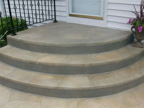 Cement Stairs rounded paver steps rounded concrete steps jpg step stuff pavers wooden