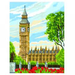 ben paints big ben painting by numbers ksg from craftyarts co uk uk