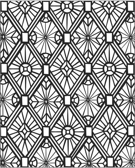 mosaic printable coloring pages