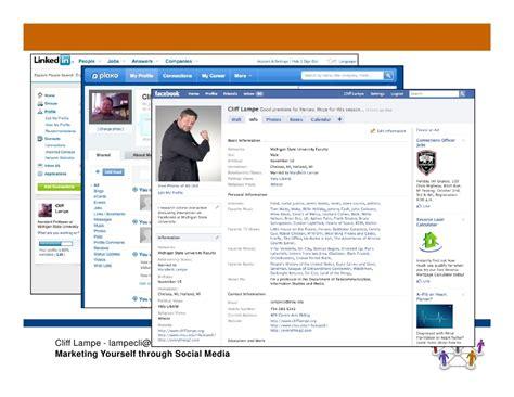 marketing through marketing yourself through social media dr le