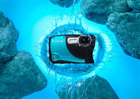 Kamera Canon Water canon d20 powershot