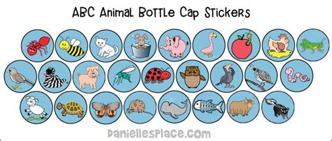 printable stickers of animals abc i believe christian homeschool curriculum bible