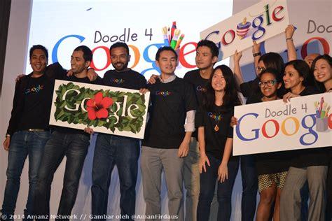doodle tema sekolah mengumumkan pertandingan doodle 4 pertama
