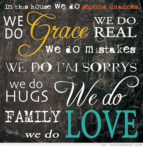 In This House We Do by In This House We Do Second Chances We Do Grace We Do Real