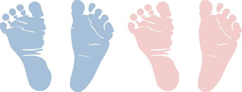 Tiny Feet Baby Shower Decorations - babyfeet png clipart best
