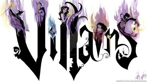 disney villain wallpaper tumblr disney villains by mattesworks on deviantart