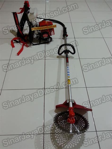Mata Pisau Mesin Rumput Brush Cutter Blade jual mesin potong rumput gendong brush cutter pro quip eco 348 sinar jaya diesel