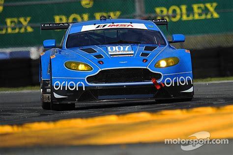 trg aston martin racing 007 trg aston martin racing takes historic pole at daytona 24h