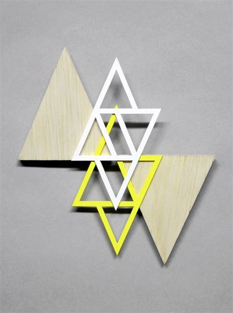 triangle pattern on wall 53 best triangle the design tool images on pinterest