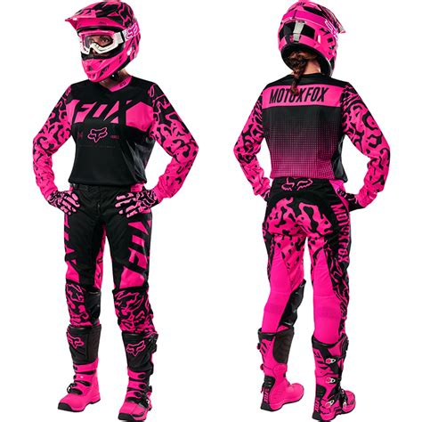 motocross gear womens fox racing 2016 mx 180 pink black motocross