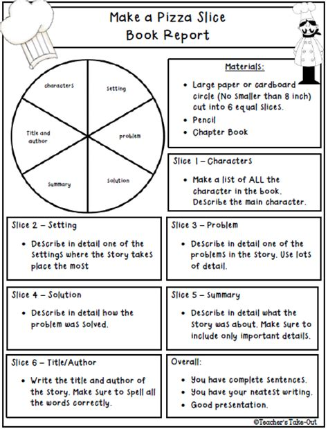 ideas for a book report s take out literature informational text