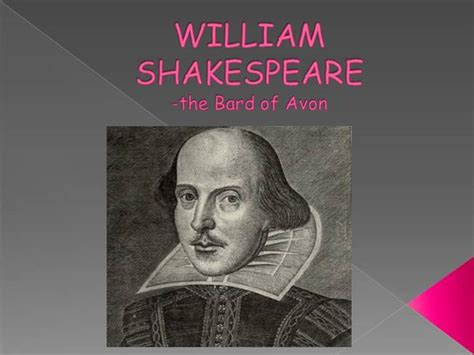 shakespeare powerpoint template william shakespeare authorstream