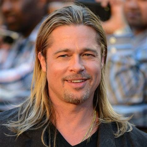 brad pitt natural hair 225 best images about hair on pinterest beards high and