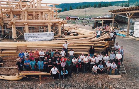 Big Houses Floor Plans by Log Home And Log Post Amp Beam Design And Construction Bc