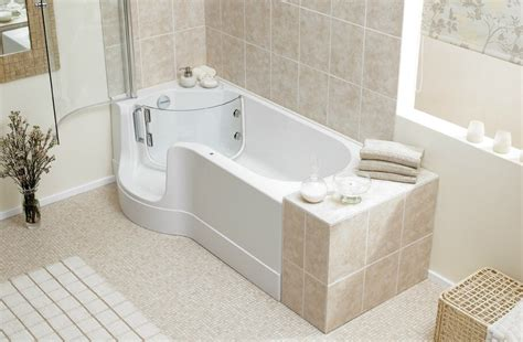 bathtubs with showers shower bath combo by hydra spa